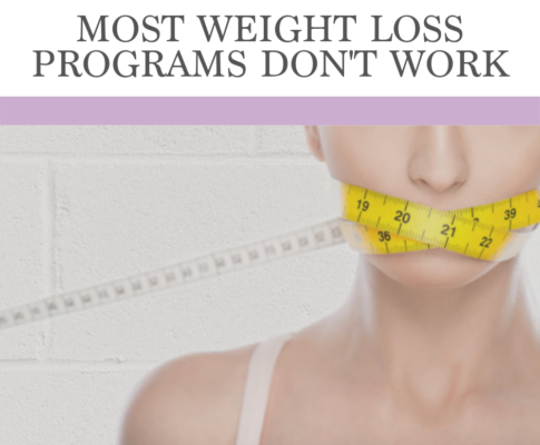 Most Weight Loss Programs Don't Work
